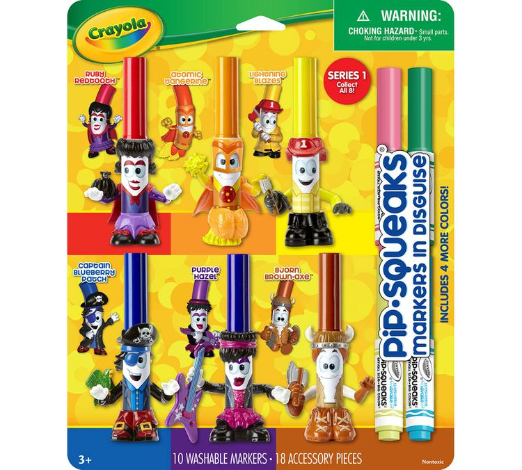 Crayola Pip-Squeaks Markers in Disguise, Series 1