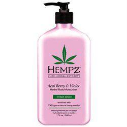 Acai Berry & Violet Herbal Body Moisturizer