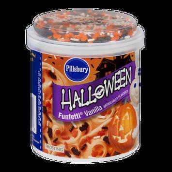 Pillsbury Halloween Funfettti Frosting Vanilla