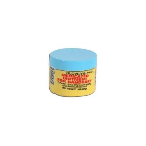 STRICKLAND CO Glovers Medicated Ointment For Dandruff - 1 Oz