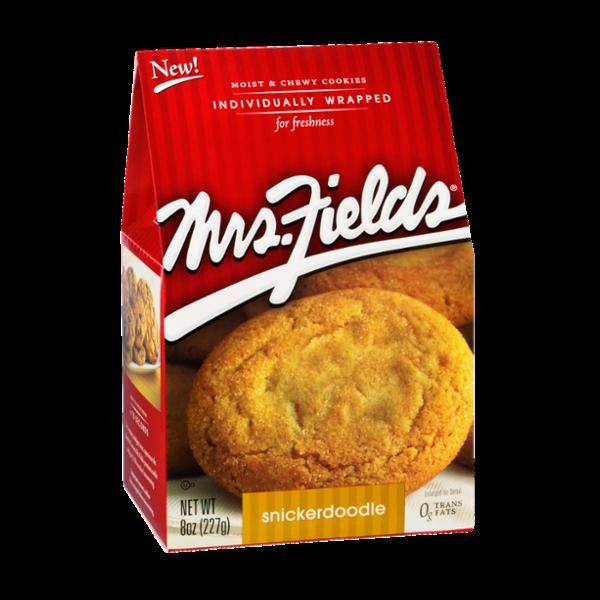 Mrs. Fields Snickerdoodle Cookies
