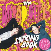 The Broad City Coloring Book by Mike Perry (Illustrator)