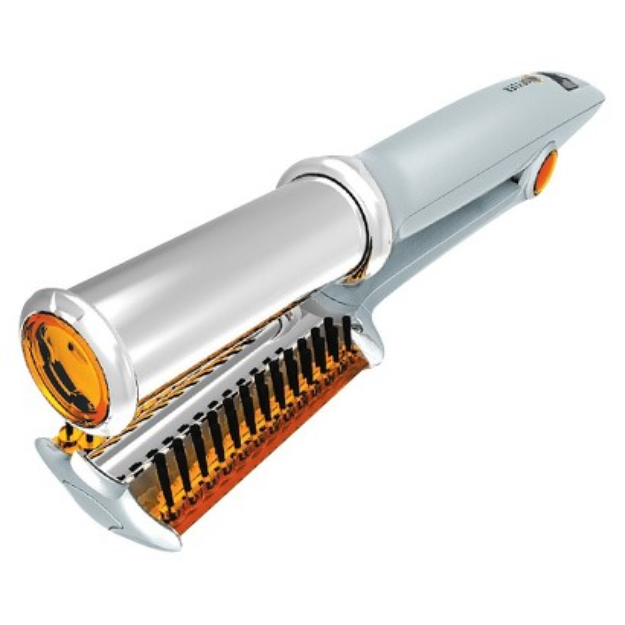 """Instyler Rotating Hot Iron 1.25"""" Silver"""