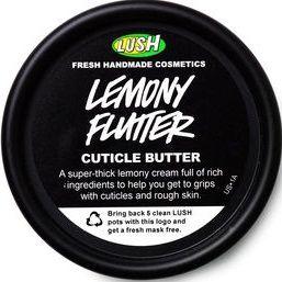 LUSH Cosmetics Lemony Flutter Cuticle Butter