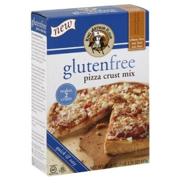King Arthur Flour Pizza Crust Mix, Gluten Free, 18.25-ounces