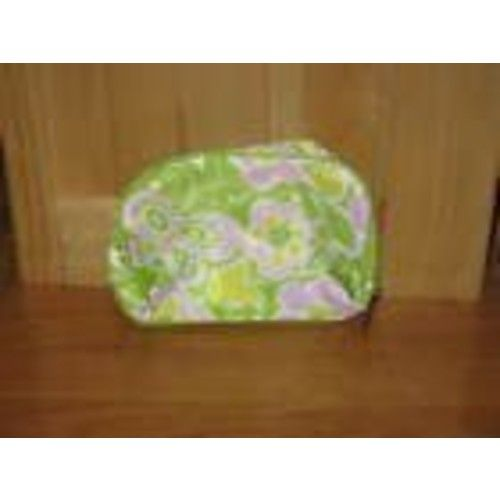 Clinique Lovely Green Flower Cosmetics Bag