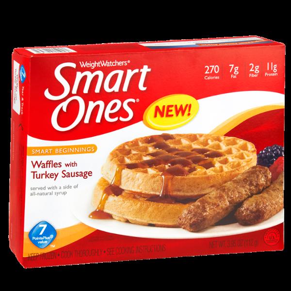 Smart Ones Smart Beginnings Waffles with Turkey Sausage