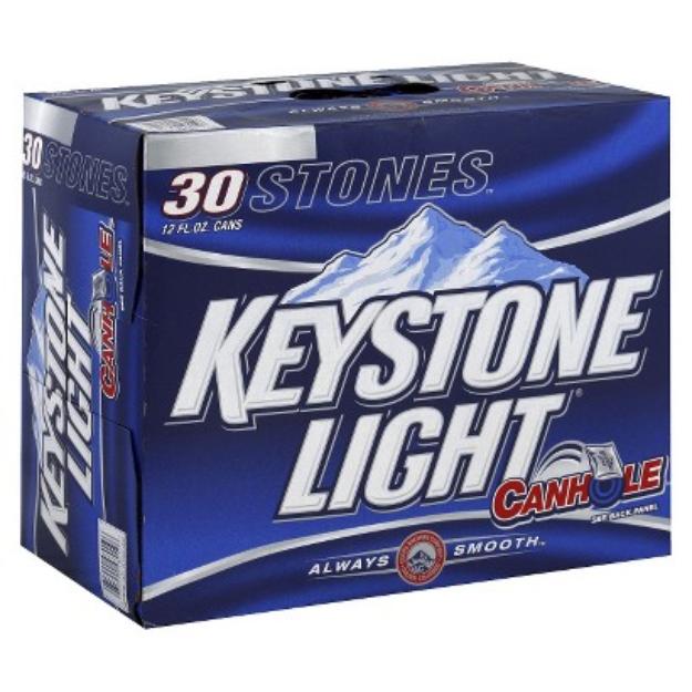 Miller Coors Keystone Light Beer Cans 12 oz, 30 pk