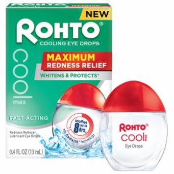 Rohto Cooling Eye Drops Maximum Redness Relief
