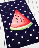 Martha Stewart Collection Summer Picnic Watermelon Beach Towel Bedding