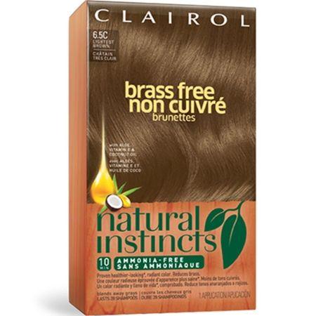 Clairol Natural Instincts Brass Free
