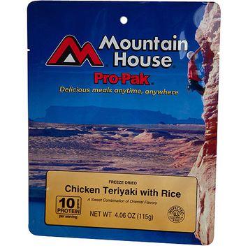 Mountain House 290560 Pro Pak Chicken Teriyaki with Rice