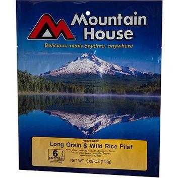 Mountain House Freeze Dried Wild Rice Mushroom Pilaf