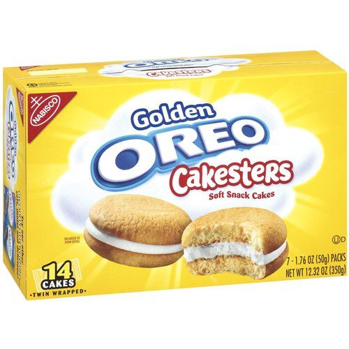 Nabisco Oreo Golden Cakesters
