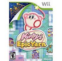 Nintendo Kirby's Epic Yarn (Nintendo Wii)