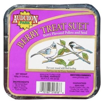 GLOBAL HARVEST/WOODINVILLE Audubon Park Suet Cakes