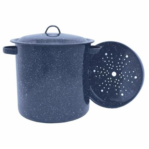 Granite Ware 15.5 qt. Tamale Pot