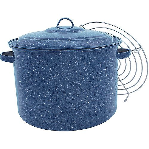 Granite Ware Quart Tamale Pot with Steamer Insert