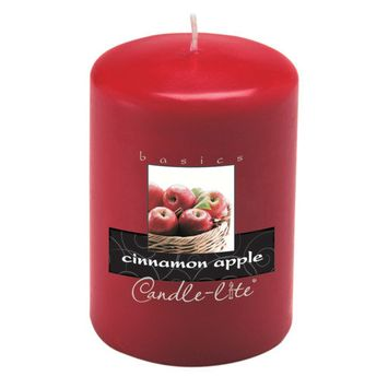 Candle lite 4 Cinnamon Scented Pillar Candle