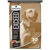 Member's Mark Exceed Dog Food, Salmon and Pea (30 lbs.)