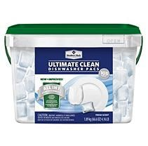 Member's Mark Ultimate Clean Automatic Dishwasher Pacs - 105 ct.