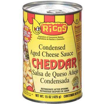 Ricos Rico's: Cheddar Cheese Sauce, 15 oz