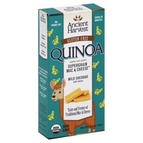 Ancient Harvest Quinoa Supergrain Mac & Cheese Mild Cheddar - 6.5 oz