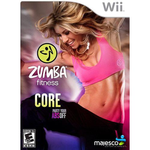 Majesco Sales, Inc. Majesco Games 01792 Zumba Fitness Core Wii
