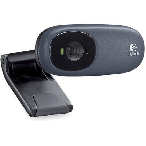 Logitech C110 Webcam - Black - USB 2.0