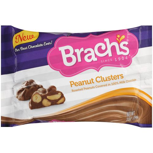 Brach's Chocolate Covered Peanut Clusters