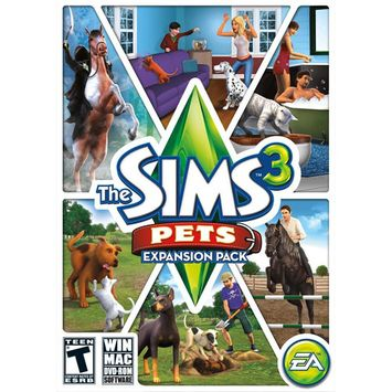 Electronic Arts The Sims 3: Pets Expansion Pack (Win/Mac)