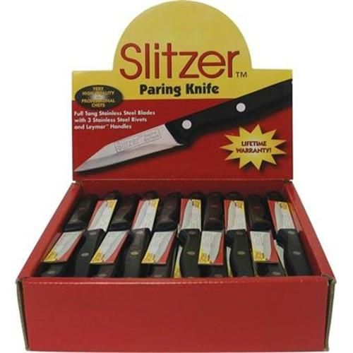 Slitzer 60Pc Paring Knife In Display