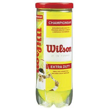 Wilson Championship Extra Duty Tennis Balls 3 Ball Tube