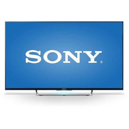 "Sony - 50"" Class (49.5"" Diag.) - Led - 1080p - Smart - 3d - Hdtv - Black"