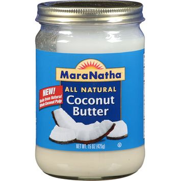 MaraNatha All Natural Coconut Butter, 15 oz, (Pack of 6)