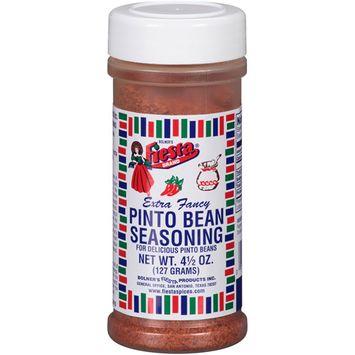 Bolner's Fiesta Brand Extra Fancy Pinto Bean Seasoning, 4.5 oz, (Pack of 6)