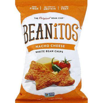 Beanitos Nacho Cheese White Bean Chips, 6 oz, (Pack of 6)