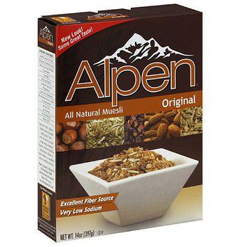 Alpen All Natural Original Muesli, 14 oz (Pack of 12)