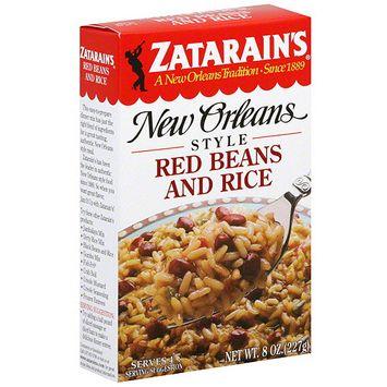 Zatarain's Red Beans And Rice, 8 oz (Pack of 12)