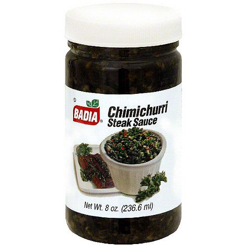 Badia Chimichurri Steak Sauce, 8 oz (Pack of 12)
