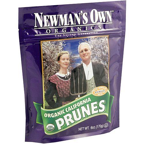 Newman's Own Organics Dried California Prunes