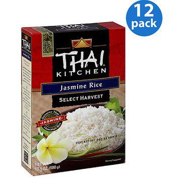 Thai Kitchen Select Harvest Jasmine Rice, 17.5 oz, (Pack of 12)