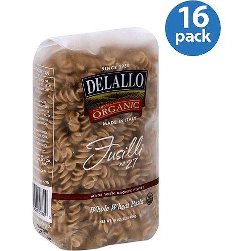 DeLallo Fusilli, 16 oz, (Pack of 16)