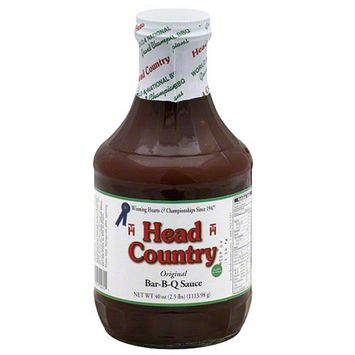 Head Country Original Bar-B-Q Sauce, 40 oz (Pack of 12)