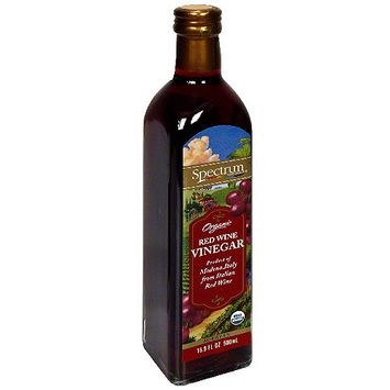 Spectrum Organic Red Wine Vinegar, 16.9 oz (Pack of 6)