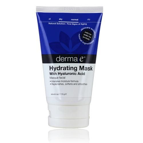 Hyaluronic Hydrating Facial Mask, 4 oz, Derma-E Skin Care