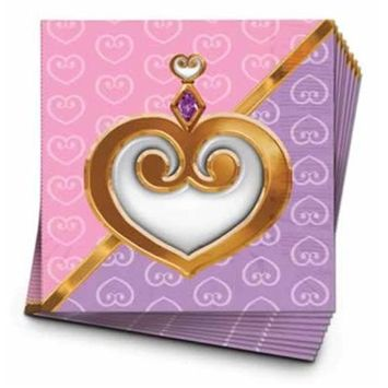 Beistle - 58101 - Princess Luncheon Napkins- Pack of 12