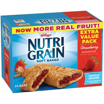 Kellogg's® Nutri-Grain® Soft Baked Strawberry Breakfast Bars