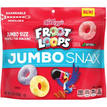 Kellogg's Froot Loops Jumbo Snax