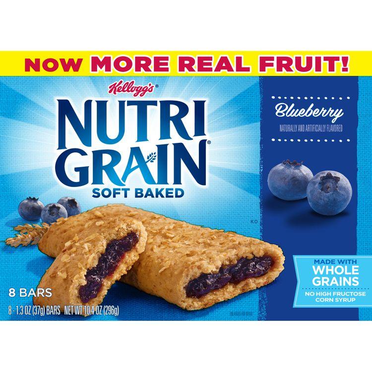 Kellogg's® Nutri-Grain® Soft Baked Blueberry Breakfast Bars